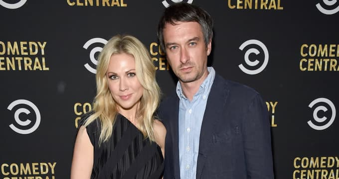 Desi Lydic with her husband, Gannon Brousseau