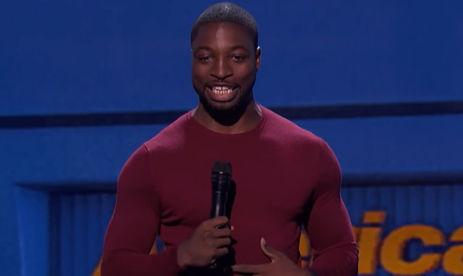 Stand up comedian, Preacher Lawson