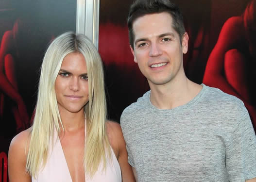 Jason Kennedy with his wife Lauren