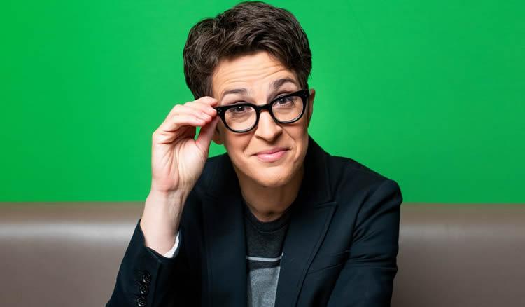 MSNBC TV Show host Rachel Maddow