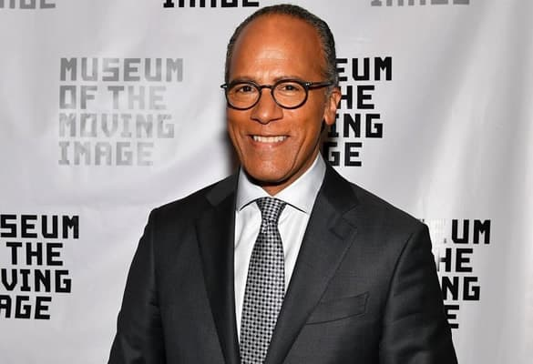NBC Nightly News anchor, Lester Holt