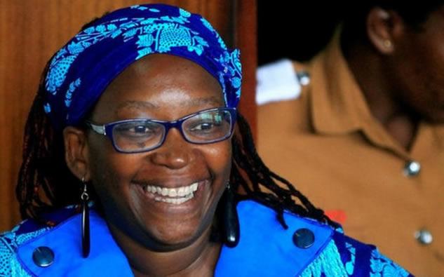 Activist Stella Nyanzi