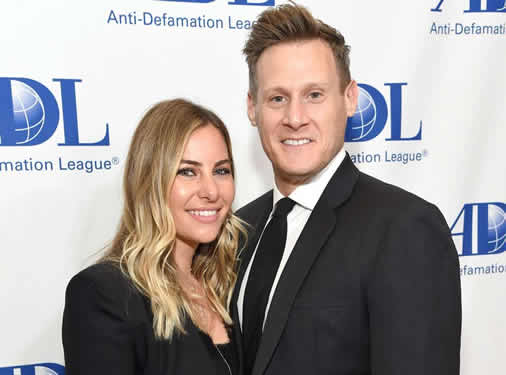 Trevor Engelson and his wife