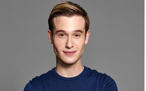 Reality show personality, Tyler Henry