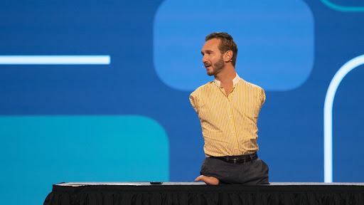 Nick Vujicic, American-Australian Motivational Speaker