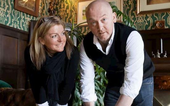 Rebecca Pritchard with her ex-husband Drew Pritchard