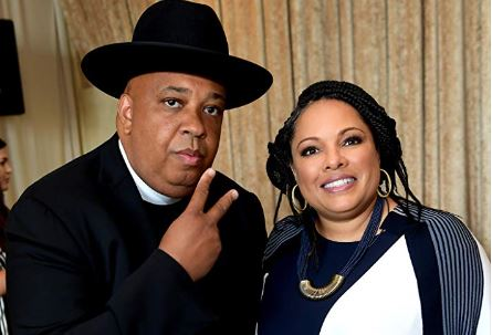 Rev. Joseph Simmons with his wife Justine Simmons