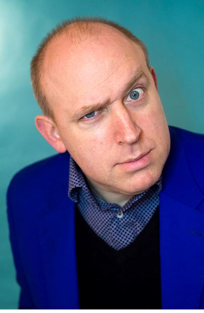Tim Vine English comedian.