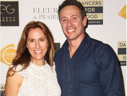 Chris Cuomo with his wife Cristina Cuomo at an event