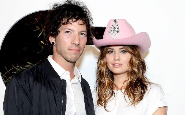 Debby Ryan with her husband Josh Dun