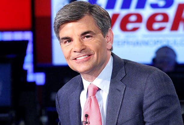 GMA co-anchor George Stephanopoulous