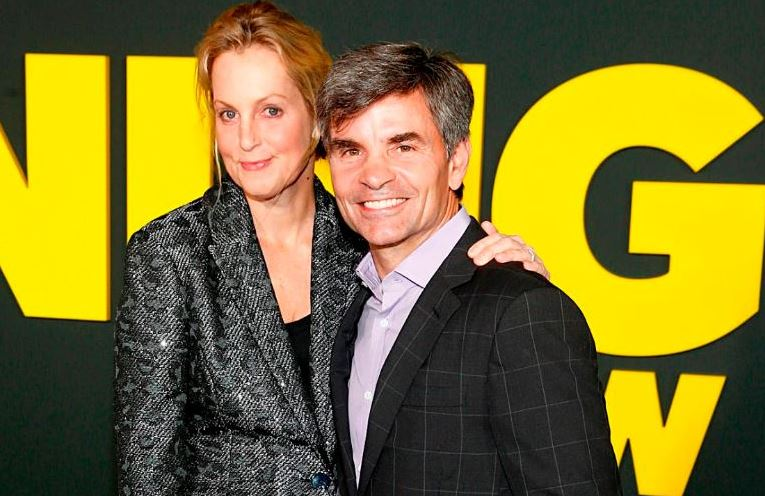 George Stephanopoulos with his wife Ali Wentworth at an event
