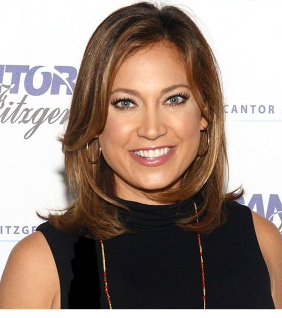Ginger Zee television personality.