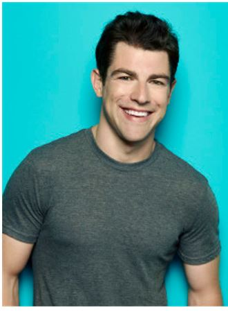 Max Greenfield American actor.