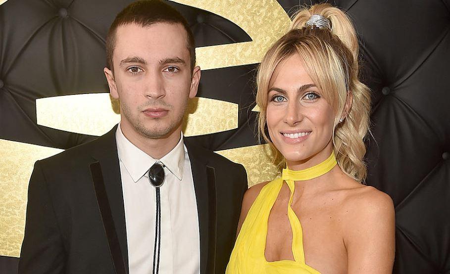 Twenty One Pilots Vocalist Tyler Joseph with his wife Jenna Black