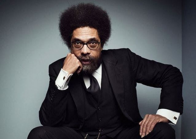 American Political Activist Cornel West