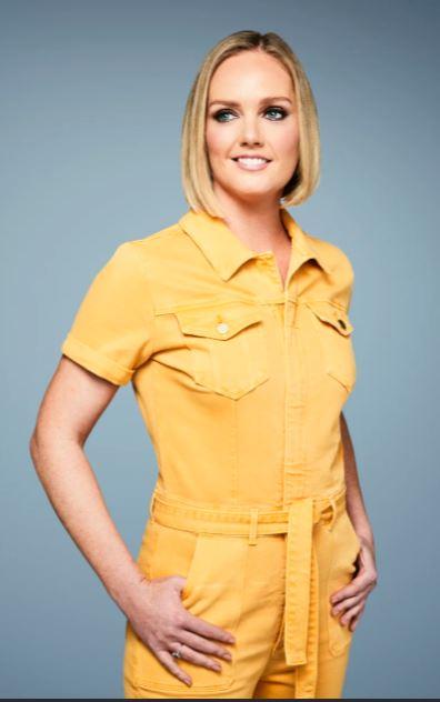 Amanda Davies the sportscaster