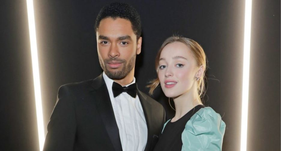 Bridgerton star actors, Regé-Jean Page and Phoebe Dynevor