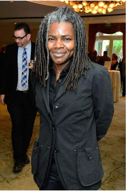 Tracy Chapman the American singer-songwriter