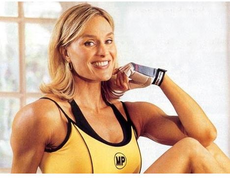 Corinna Everson the female bodybuilding champion and actress