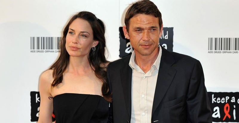Actress Claire Forlani with her husband Dougray Scott