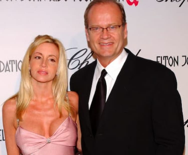 Camille Grammer and her x-husband Kelsey