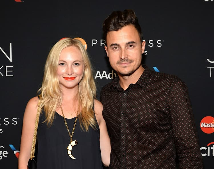 Candice Accola and her husband Joe King