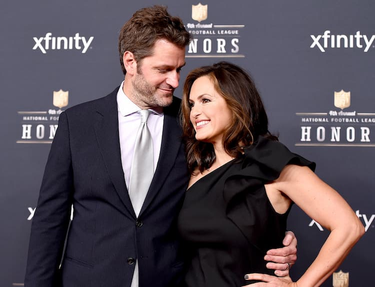 Peter Hermann and his wife Mariska Hargitay
