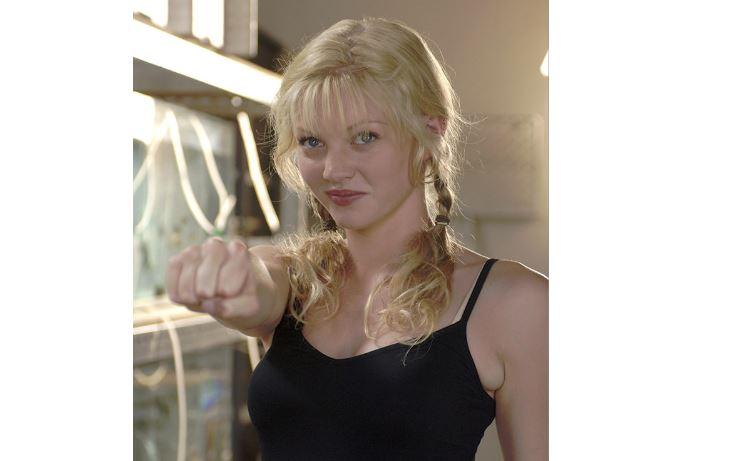 Actress Cariba Heine