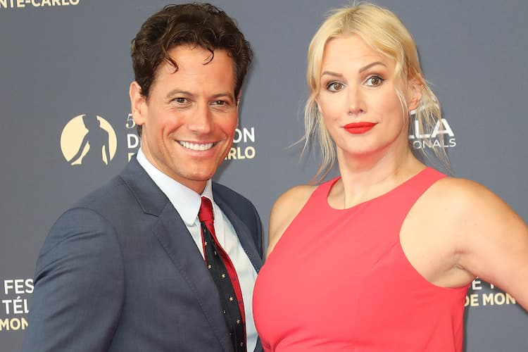 Ioan Gruffudd and his ex wife Alice Evans