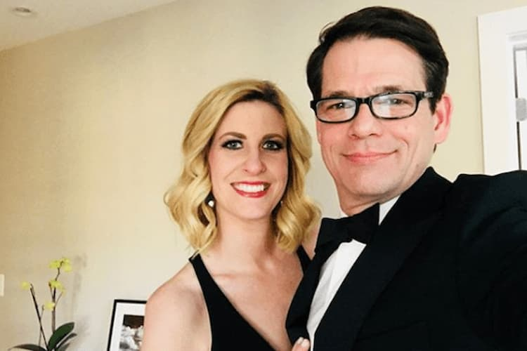 Caitlin Roth and her husband Photo