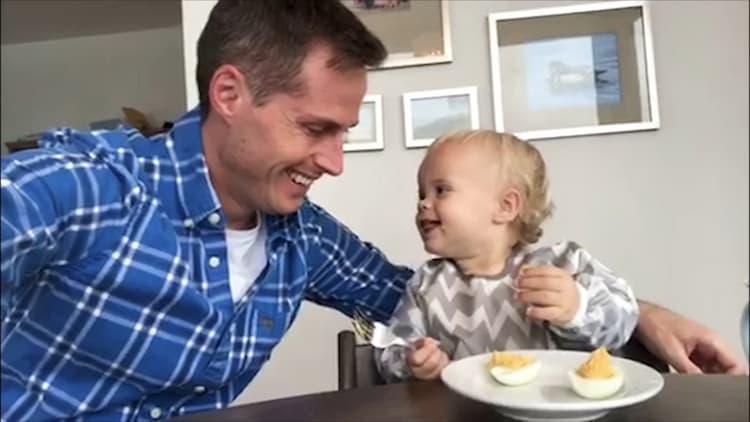Jeff Smith and his son Jordan