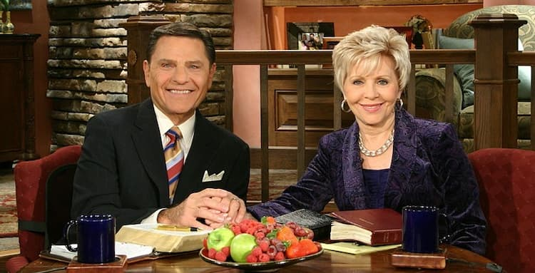 Kenneth Copeland and his wife Gloria Photo