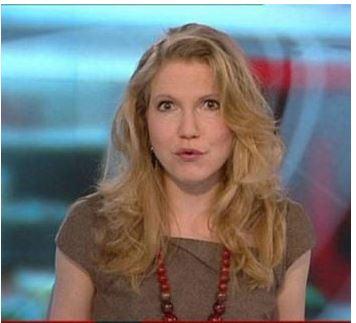 Alice Baxter the BBC journalist