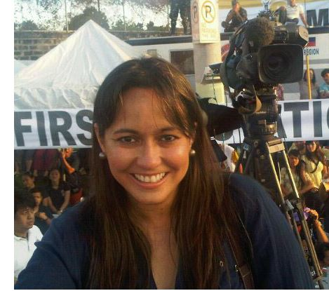 Marga Ortig the Aljazeera journalist