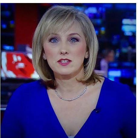 Martine Croxall the BBC journalist