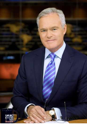 Scott Pelley The CBS journalist