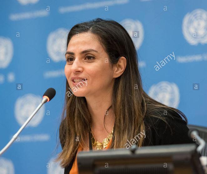 Sherine Tadros THE Al jazeera journalist,