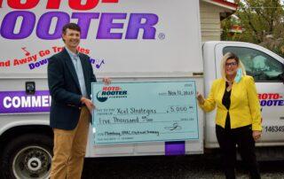 Roto-Rooter Plumbers of Savannah Donates $5,000 to Xcel Strategies_2077