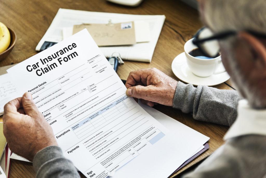 Vehicle Car Insurance Claim Form