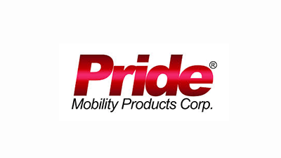 Logo for Pride Mobility Products