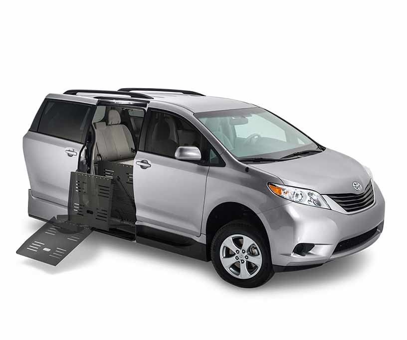 photo of a Toyota Sienna Conversion van
