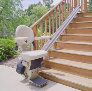 stair lift bruno elite outdoor straight web