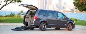Patriot Mobility Inc. - Dodge Caravan Rear Entry Ramp