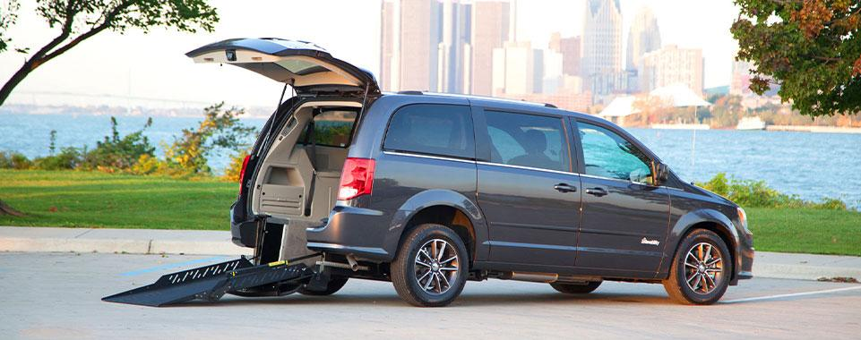 Patriot Mobility Inc. - Dodge Caravan Rear Entry Ramp