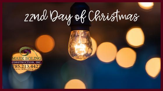 22nd Day of Christmas