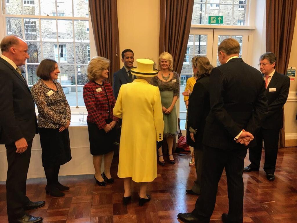 Meeting Her the Queen