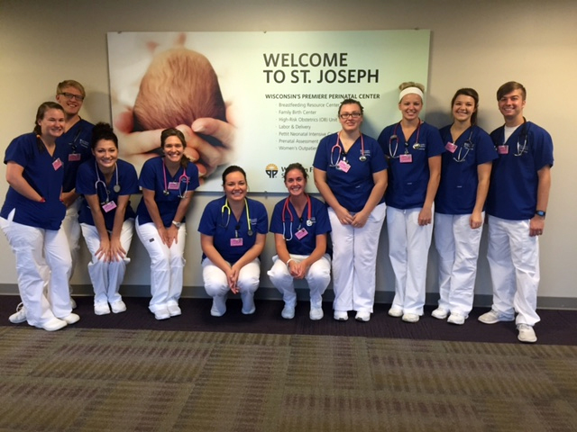 Class of 2017 St Joes OB Clinical