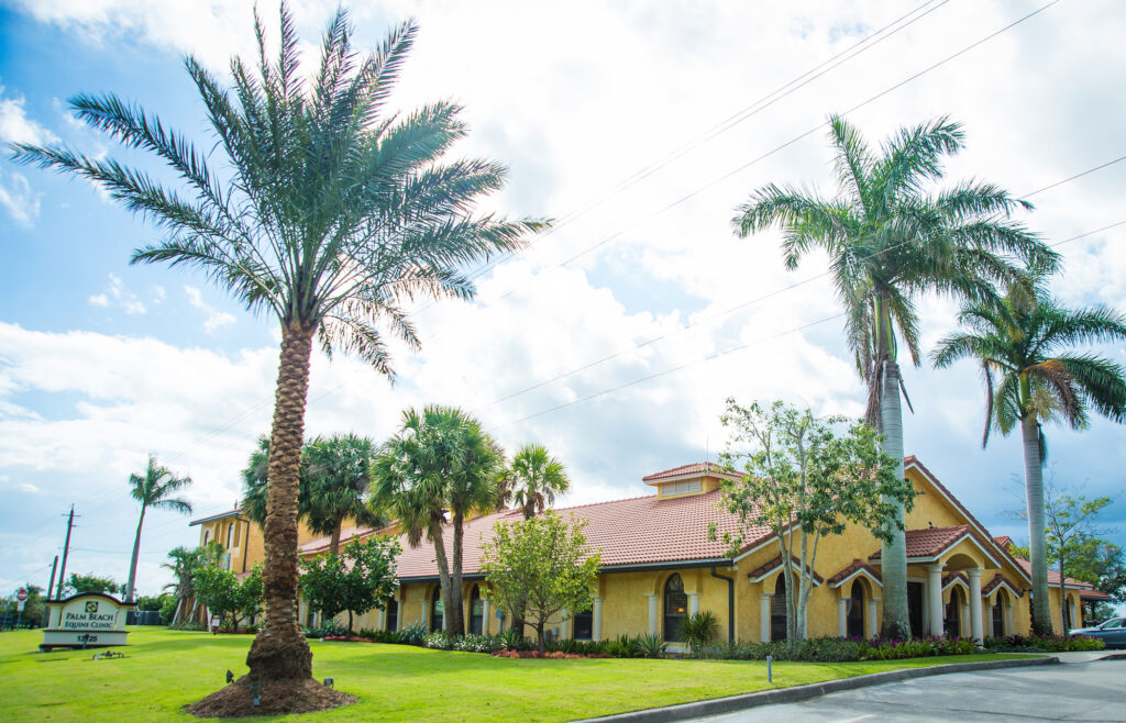 Palm Beach Equine Clinic Veterinary Hospital in Wellington Florida.