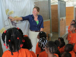 Janet greenfield photo community news literacy program teaching